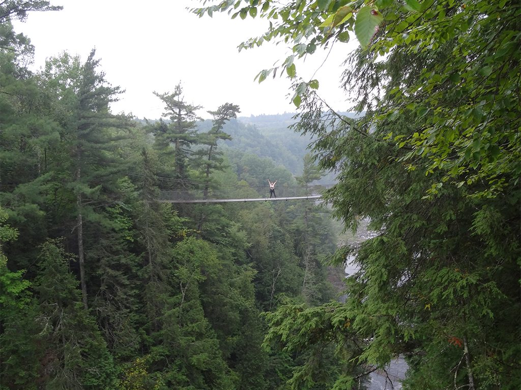 Canyon Sainte-Anne Highest Bridge