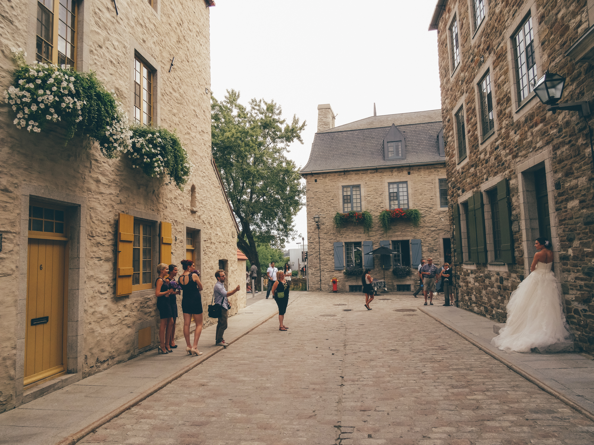 Dream Wedding in Old Quebec