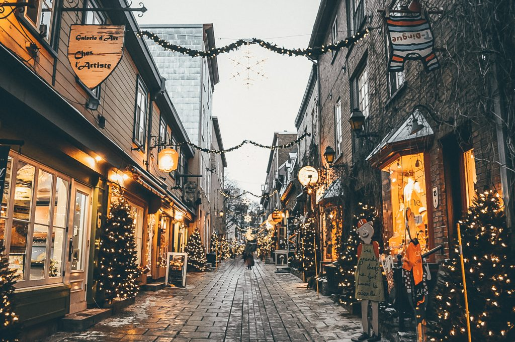 Magical Christmas in Quebec