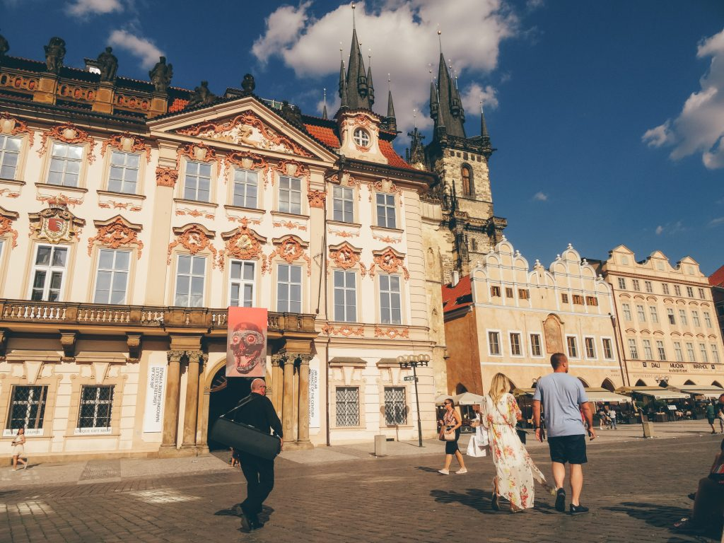 Walk on Old Town Square, Prague