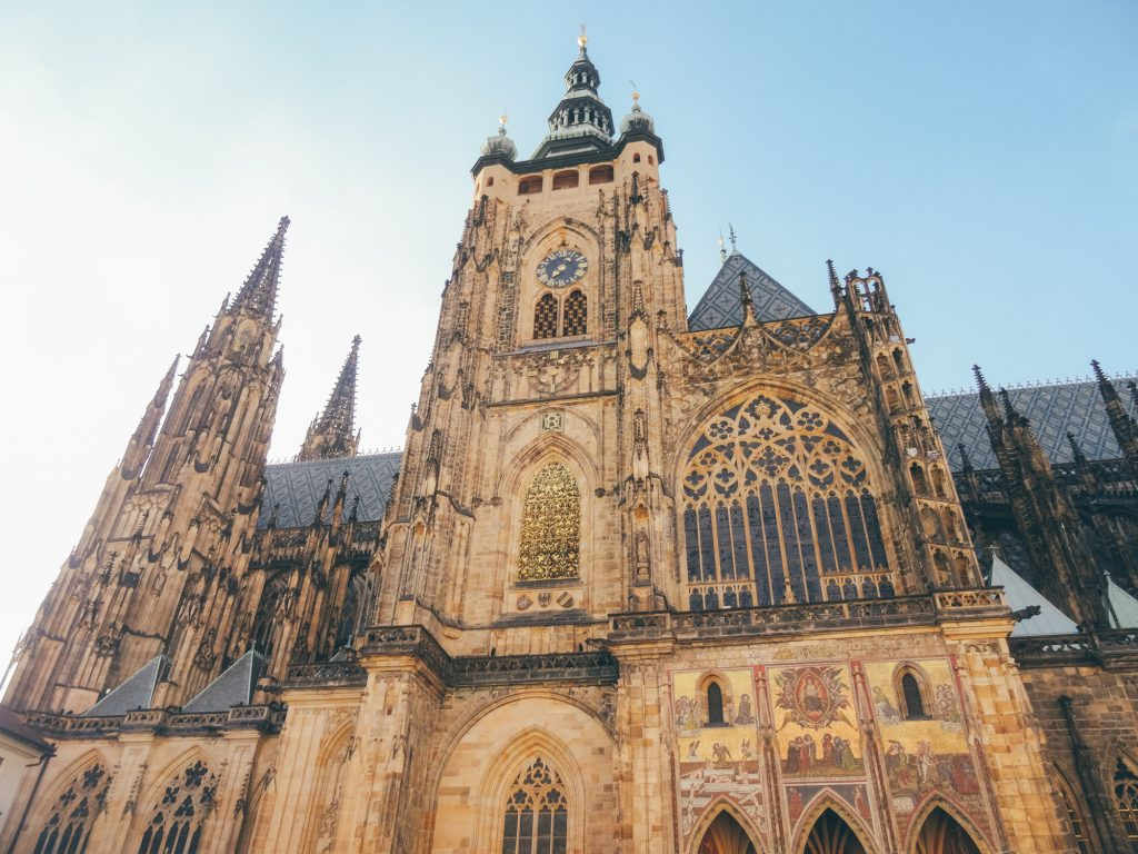 Visit St. Vitus Cathedral, Prague