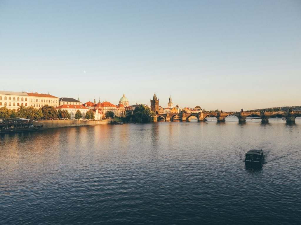 Marvel at Vltava River and Charles Bridge, Prague