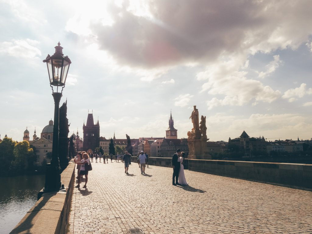 Beautiful Charles Bridge, Prague