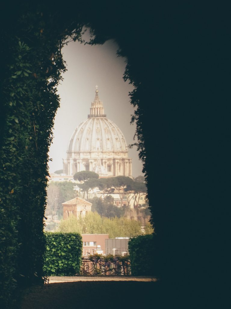 The Knights of Malta Keyhole View