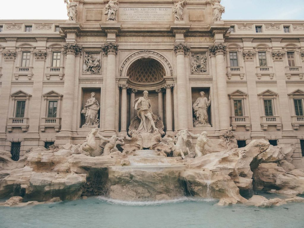 The Trevi Fountain in its Brilliance