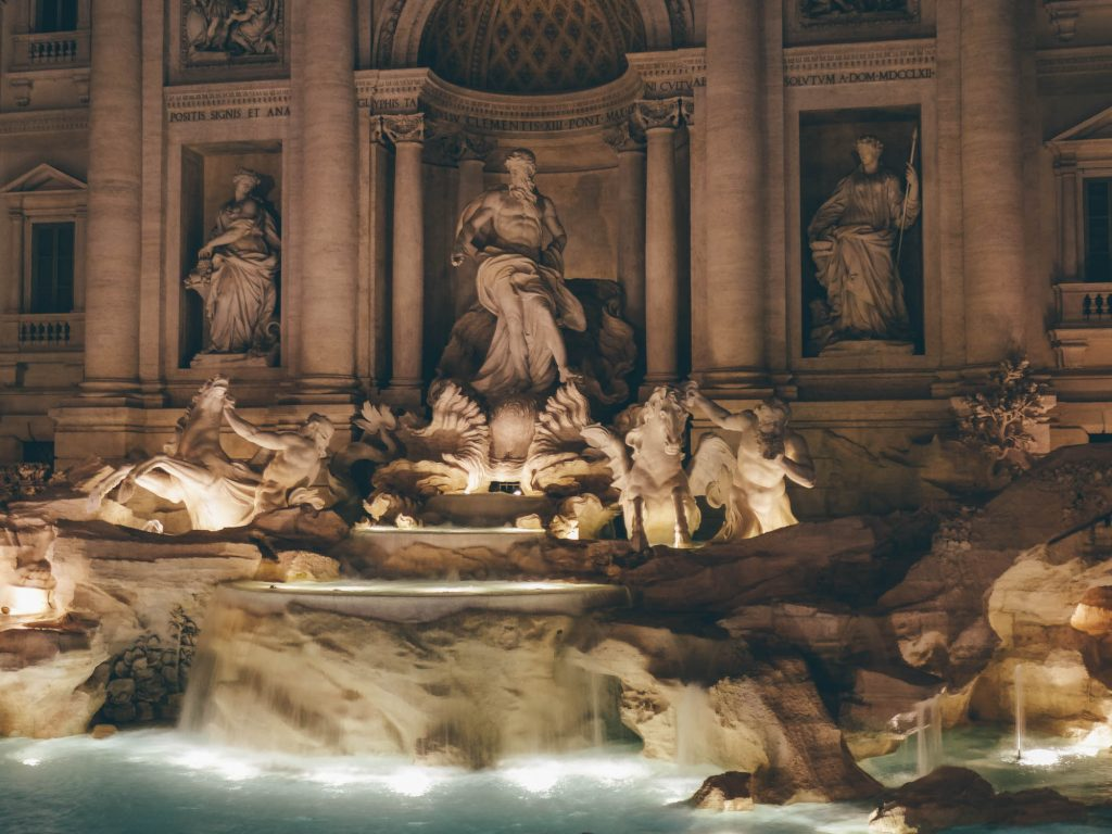 The Trevi at Night