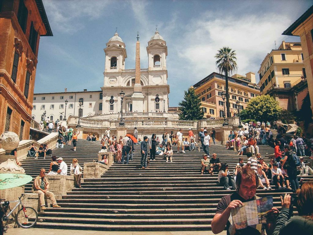 Feel the Roman Spirit at the Spanish Steps